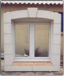 Salette paul serge fabricant d 39 encadrement beton arme de for Entourage fenetre exterieur