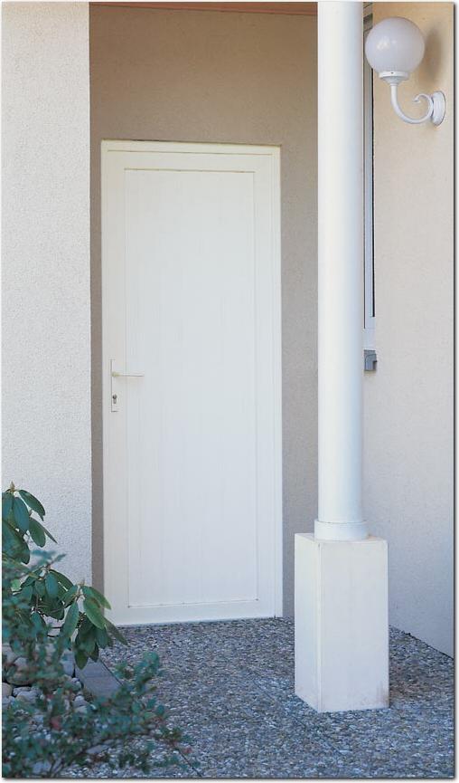 Awesome services portes de service bel m portes de service - Porte de service pvc anthracite ...